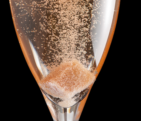 Champagne Cocktail (detail), photo © 2011 Douglas M. Ford. All rights reserved.