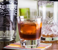 Mezcal Negroni, photo © 2012 Douglas M. Ford. All rights reserved.