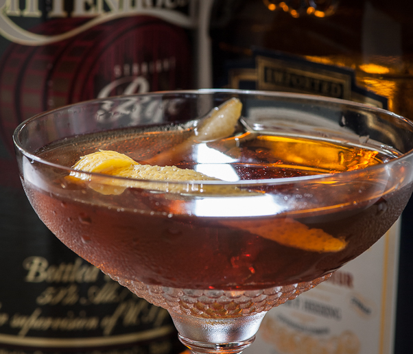 Remember the Maine cocktail, photo copyright © 2012 Douglas M. Ford. All rights reserved.