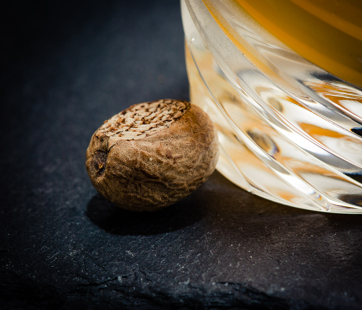 Nutmeg for Chatham Artillery Punch, photo © 2013 Douglas M. Ford. All rights reserved.