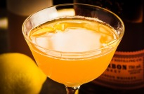 Gold Rush Cocktail, photo © 2014 Douglas M. Ford. All rights reserved.