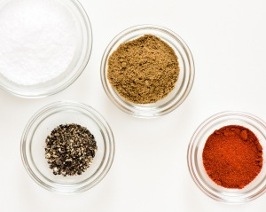 Spices for the Bloody Mary, photo © 2014 Douglas M. Ford. All rights reserved.