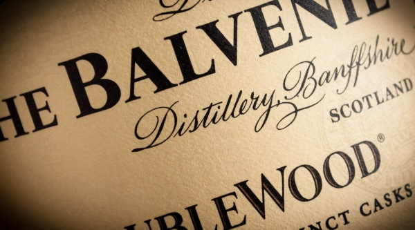 Balvenie label detail, photo © 2010 Douglas M. Ford. All rights reserved.