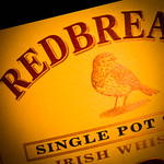 Redbreast whiskey label (detail), photo © 2016 Douglas M. Ford. All rights reserved.