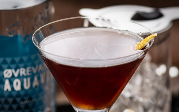 Trident Cocktail, photo © 2019 Douglas M. Ford. All rights reserved.